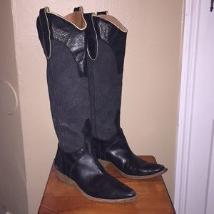 Miss Sixty Cowboy Boots Size 40/10